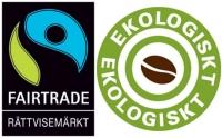 Johan & Nyström - Espresso FTO - Fair Trade Organic - Ekologiska Mellanrostade kaffebönor - 500g