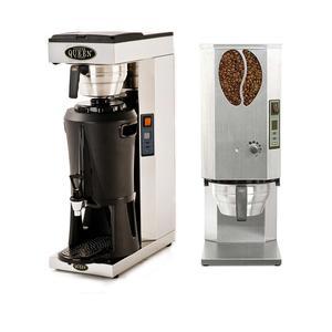 *Kampanj* Coffee Queen - Mega Gold A - Termosbryggare och Kvarn Original