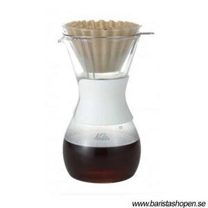Kalita - Glass Wave Style Dripper Set - Kanna och filterhållare i glas