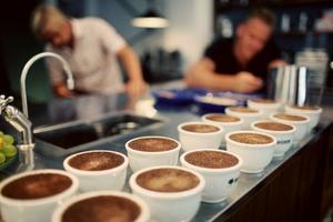 Rattleware - Coffee Cupping Tray  - klassisk bricka för koppning