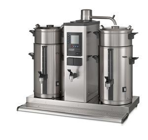 Bonamat - B10 HW Bordsmodell - Urnbryggare - Brygger stora mängder kaffe i två behållare à 10 liter - Inklusive hetvattenkran
