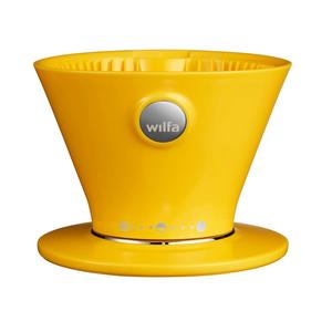Wilfa WSPO Yellow - Manual Drip Coffee Maker - Gul