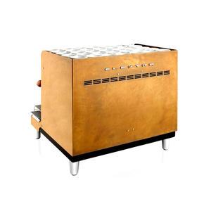 Elektra -  SIXTIES RIFORMA 2 GROUP - Oxidized Brass & Bakelite - Kompakt retro espressomaskin i oxiderad mässing med två grupper