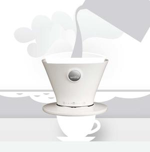 Wilfa WSPO White - Manual Drip Coffee Maker - Vit