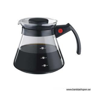Tiamo - Coffee Server 450ml Black - Serveringskanna svart
