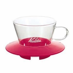 Kalita - Glass Dripper 155 - Cherry Pink - Filterhållare i glas