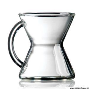 Chemex - Glass mug - kaffekopp i munblåst glas - kaffemugg i glas - 300 ml