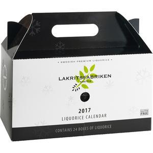 Lakritsfabriken - Lakritskalender 2017 - Räkna ner till julafton med en ny spännande smak varje dag - 720g