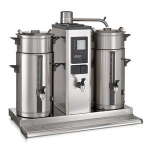 Bonamat - B20 HW Bordsmodell - Urnbryggare - Brygger stora mängder kaffe i två behållare à 20 liter - Inklusive hetvattenkran