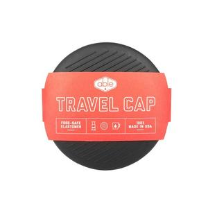 Able - Travel Cap for Aeropress - Elastomerlock som passar Aerobie Aeropress