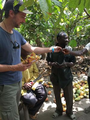 Kakaobolaget - Peppermint 73% - Ekologisk förstklassig ursprungschoklad från Österlen - 70 g