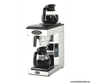 Kaffemaskin - Coffee Queen A2 - kaffebryggare med fast vattenanslutning - 1,8 litersbryggare