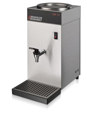 Bonamat - HW 10 - Hetvattendispenser på 2 liter - Utan fast vattenanslutning