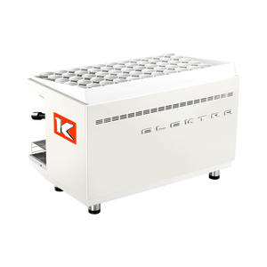 Elektra - KUP 2-group Ice White - Snygg, effektiv espressomaskin för restaurangen eller caféet - Två grupper