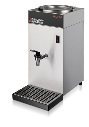 Bonamat - HWA 50 - Hetvattendispenser på 4,5 liter - Med fast vattenanslutning