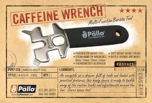 Pällo - Caffeine Wrench - Multifunktionsvertyg för baristor
