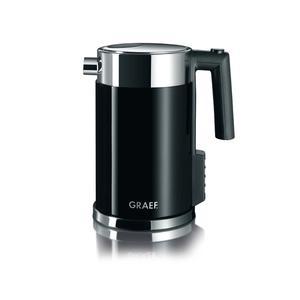 Graef - WK702 - 1.5L - Elektrisk Vattenkokare - Inställbar temperatur - Svart