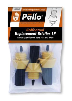 Pällo - Ersättningsborst till Coffeetool LP - 3-pack