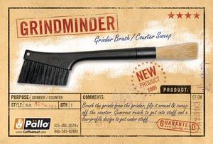 Pällo - Grindminder - Dubbelborste för rengöring av bänk och kvarn