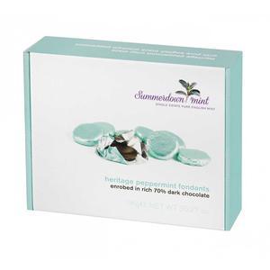Summerdown Mint - Heritage peppermint Fondants - 1000g -STOR låda med chokladbitar