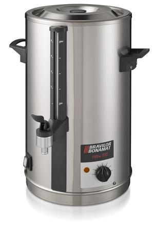 Bonamat - HW 520+ - Hetvattenbehållare på 16 liter - Med fast vattenanslutning