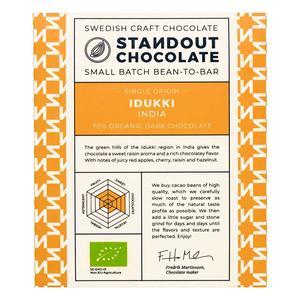 Standout  Chocolate - India Idukki - 70% - Ekologisk Bean-to-bar
