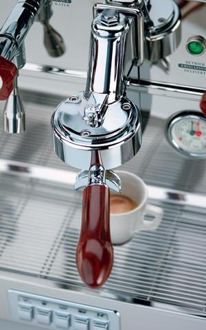 Elektra - BARLUME 3-group Blue Ocean - Snygg och högpresterande espressomaskin med 50-talsdesign - För restaurang, bar, café etc - Med tre grupper
