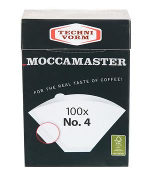 Moccamaster Pappersfilter för 1x4 kaffebryggare