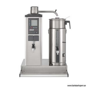 Bonamat - B10 HW R Bordsmodell - Urnbryggare - Brygger stora mängder kaffe i en behållare à 10 liter på höger sida - Inklusive hetvattenkran