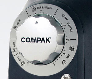 Compak - R80 - Mat Black - Butikskvarn