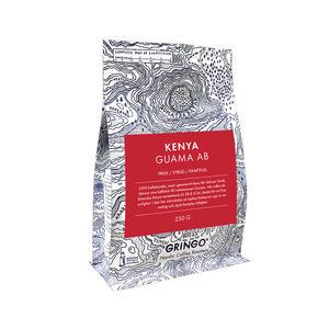 Gringo Nordic - Kenya Guama AB - Ljusrostade kaffebönor - 250g