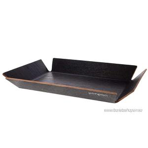 Ponpon Exploring Design - Tray Large Svart 50x35x6cm
