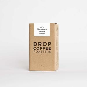 Drop Coffee - Mugaya AA - Kenya - Ljusrostade kaffebönor - 250g