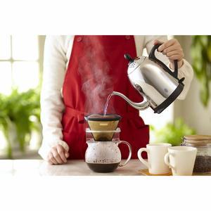 CORES Gold KF4 Coffee Filter with stand - permanent kaffefilter i 23 karats guld för 1-10 koppar kaffe