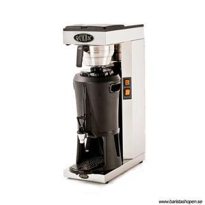 Coffee Queen - Mega Gold M - Termosbryggare - Brygger direkt ner i serveringsstation - Manuell vattenpåfyllning