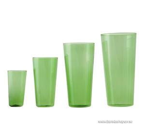 Ponpon Exploring Design - Glas Quartet grön 4-pack