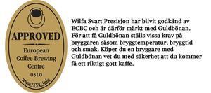 Wilfa WSP-1A - Svart Presisjon Kaffebryggare i borstad aluminium
