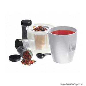 Swiss Gold -  Travellers Kit - resekit för att brygga gott te på resan