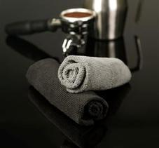 Cafelat - Micro Fibre Cloths - svarta och grå mikrofiberdukar - 4-pack