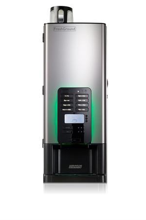Bonamat - FreshGround 310 - Färskbryggsautomat - Hela bönor - Bra kaffe från färskmalda bönor när som helst på dagen