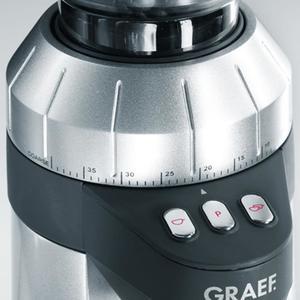 Graef - CM900 - Espressokvarn - Elektronisk kaffekvarn i aluminium