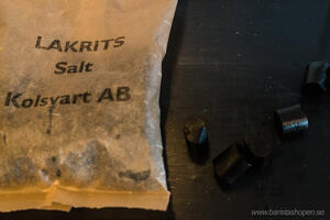 Kolsvart  AB Malmö - Lakrits Salt - 120g