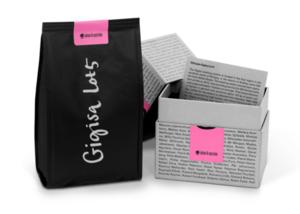 Johan & Nyström - BOX Gigisa Lot 5 Etiopien - Limited Edition -  Ljusrostade kaffebönor - 250g