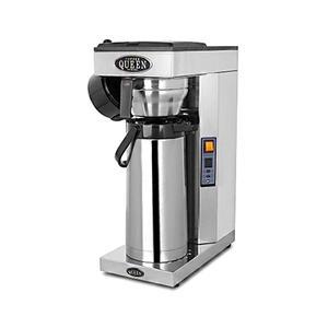 Coffee Queen - Termos A - Brygger direkt ner i pumptermos - Automatisk vattenpåfyllning
