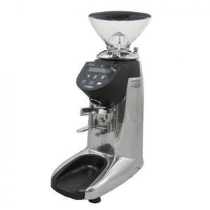 Compak - E5 Essential On Demand - Polished Aluminum - Mycket snabb och snygg on demand-kvarn för café och restaurang