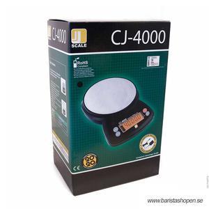 Jennings - CJ-4000 - Våg - Stöttålig kvalitetsvåg med 20 års garanti - 0,5--4000g