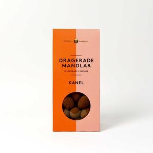 Mandel och Mandel - Dragerade mandlar kanel - Läckra chokladdragerade mandlar handgjorda i Sverige