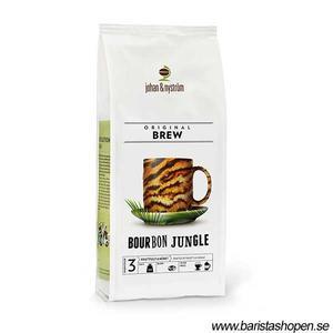 Johan & Nyström - Bourbon Jungle - OBS BRYGGMALET kaffe - Mörkt och kraftfullt - 500g
