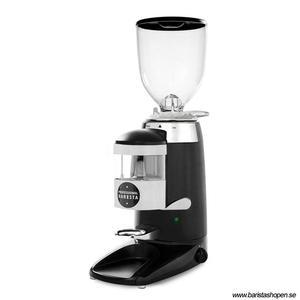 Compak - K6 Professional Barista Metal Black  - Espressokvarn med uppsamlare för den ambitiösa baristan