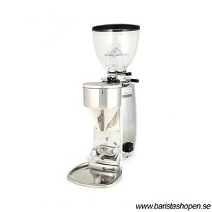 Mazzer - Mini Electronic A Polished Aluminium Digital - Espressokvarn för mindre café, restaurang och baristan
